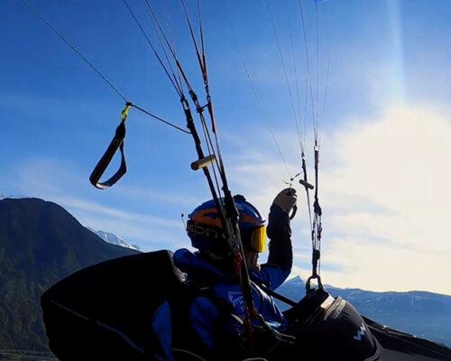 Parapente au pays du Mont-Blanc avec Sébastien