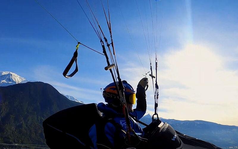 Image pour Parapente au pays du Mont-Blanc avec Sébastien