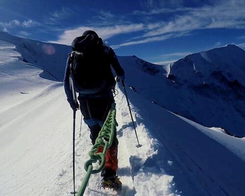 Ascension du Mont-Blanc avec Victor