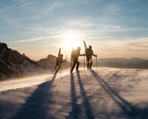 Ski de randonnée au Môle avec Nelly