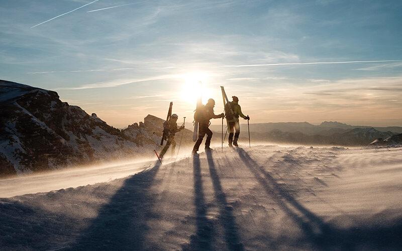 Image pour Ski de randonnée au Môle avec Nelly