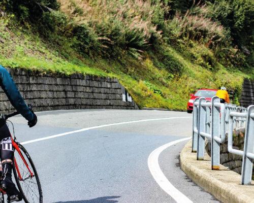 Cyclisme de route à la Mandallaz avec Pascal