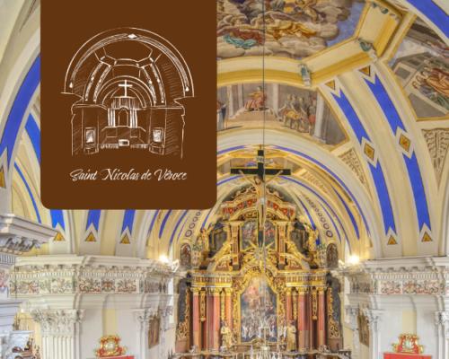 L'église de Saint Nicolas de Véroce