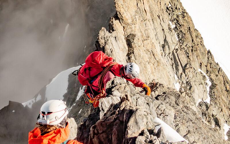 Image pour Course d'arête au Massif du Mont-Blanc