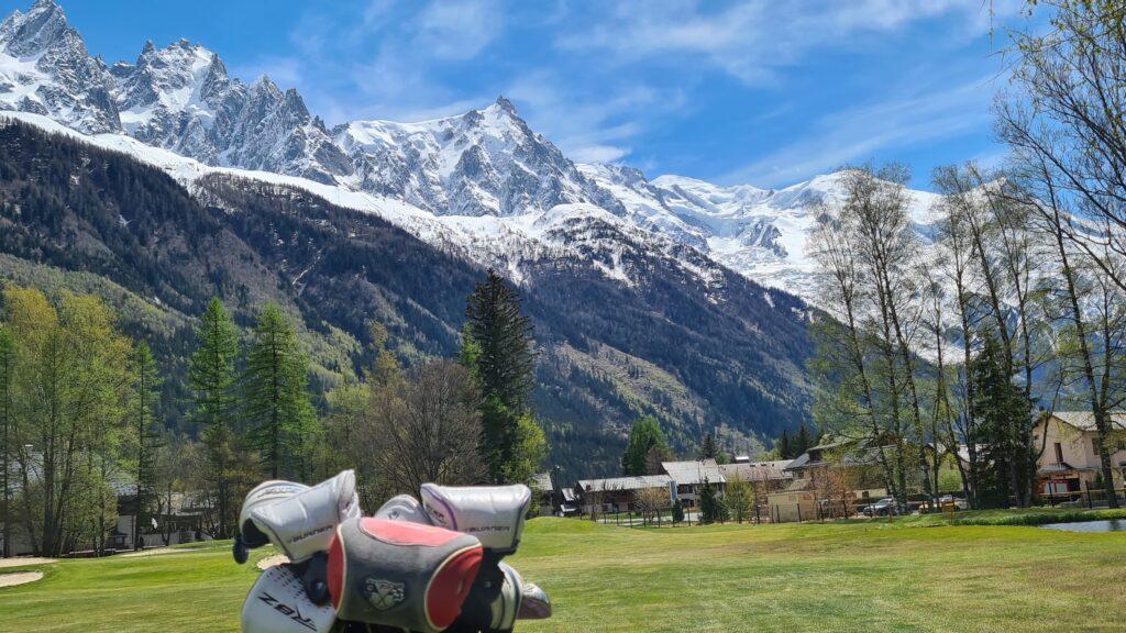 Parcours golf de Chamonix Mont-Blanc