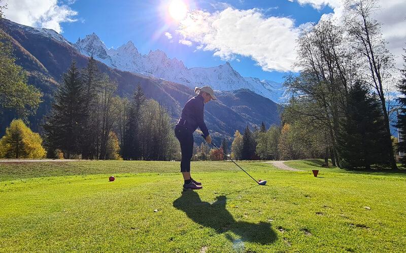 Image pour Golf à Chamonix Mont-Blanc