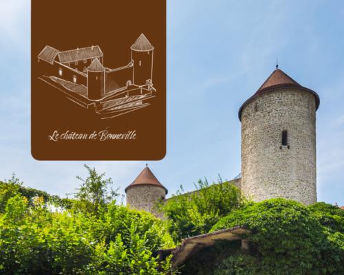 Le château de Bonneville