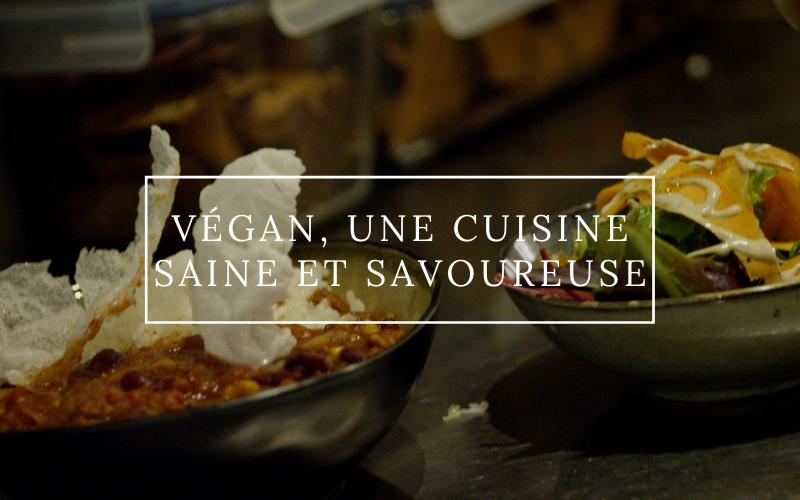 Image pour Végan, une cuisine saine et savoureuse ?