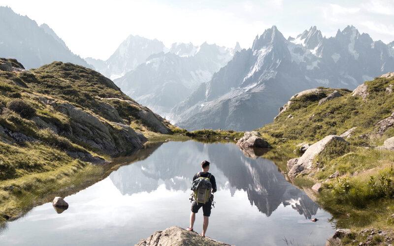 Image pour Randonnée en montagne aux Dômes de Miage avec Victor